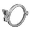 Stainless steel clamp connections clamp rings