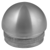 Stainless steel railing construction tube caps half-round