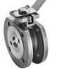 Stainless steel ball valves flanged ends 1-piece