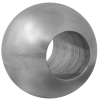 Stainless steel railing construction balls with through hole