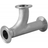 Stainless steel clamp connections pipe fittings