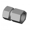 Stainless steel cutting rings straight couplings female thread