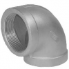 Stainless steel fittings PN 10 (ECO-Line) ...with NPT-thread elbows / bends elbows 90°