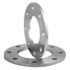 Stainless steel plate flanges reduced thickness