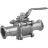 Stainless steel clamp connections ball valves