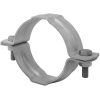 Stainless steel pipe clamps with mounting pad