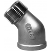 Stainless steel fittings PN 10 (ECO-Line) elbows / bends elbows 45° F/M