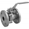Stainless steel ball valves flanged ends