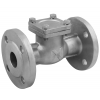Stainless steel non-return valves swing-check valves flange ends
