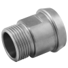 Stainless steel unions liners liner to BSP male