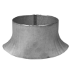 Stainless steel branch saddles to larger diameter