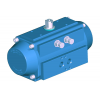 Stainless steel actuators pneumatic special versions