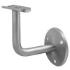 Stainless steel railing construction handrail brackets and supports other brackets 3 drill holes