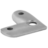 Stainless steel railing construction handrail brackets and supports Support plates 90°