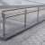 Stainless steel railing construction anchors and flanges Anchor with knurl