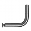 Stainless steel railing construction handrail brackets and supports shackles for welding on