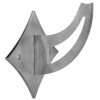 Stainless steel railing construction handrail brackets and supports Type D square