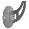 Stainless steel railing construction handrail brackets and supports Type B with oval plate
