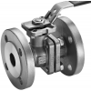 Stainless steel ball valves flanged ends 2-piece, TA-air