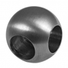 Stainless steel railing construction balls with L-hole