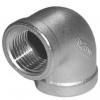 Stainless steel fittings PN 10 (ECO-Line) ...with NPT-thread elbows / bends reducing elbows