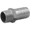 Stainless steel fittings PN 10 (ECO-Line) ...with NPT-thread nozzles hexagon