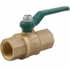 Stainless steel ball valves threaded ends 2-piece & full bore DVGW brass approval for water