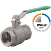Stainless steel press fittings ball valves Muffenanschluss