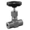 Stainless steel globe valves high-pressure