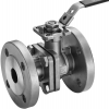 Stainless steel ball valves flanged ends 2-piece