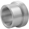 Stainless steel unions conical seat screw-in parts with female thread