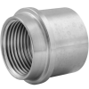 Stainless steel unions conical seat insert parts with female thread