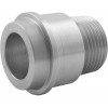 Stainless steel unions conical seat insert parts with male thread