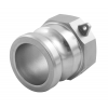 Stainless steel quick couplings Camlock type A