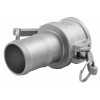Stainless steel quick couplings Camlock type C