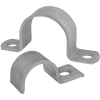 Stainless steel pipe clamps one-piece...