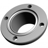 Stainless steel flange connections grooved flanges