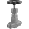 Stainless steel globe valves high-pressure male thread cutting ring connection