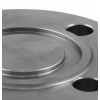 Stainless steel blind flanges DIN / EN PN 40 with groove