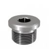 Stainless steel cutting rings accessories closing plugs BSPP DIN-ISO 228