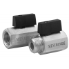 Stainless steel ball valves threaded ends 1-piece & reduced bore MINI