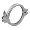 Stainless steel clamp connections more... with hexagonal nut