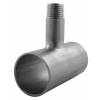 Stainless steel T- X- Y- pieces welded nipple outlet